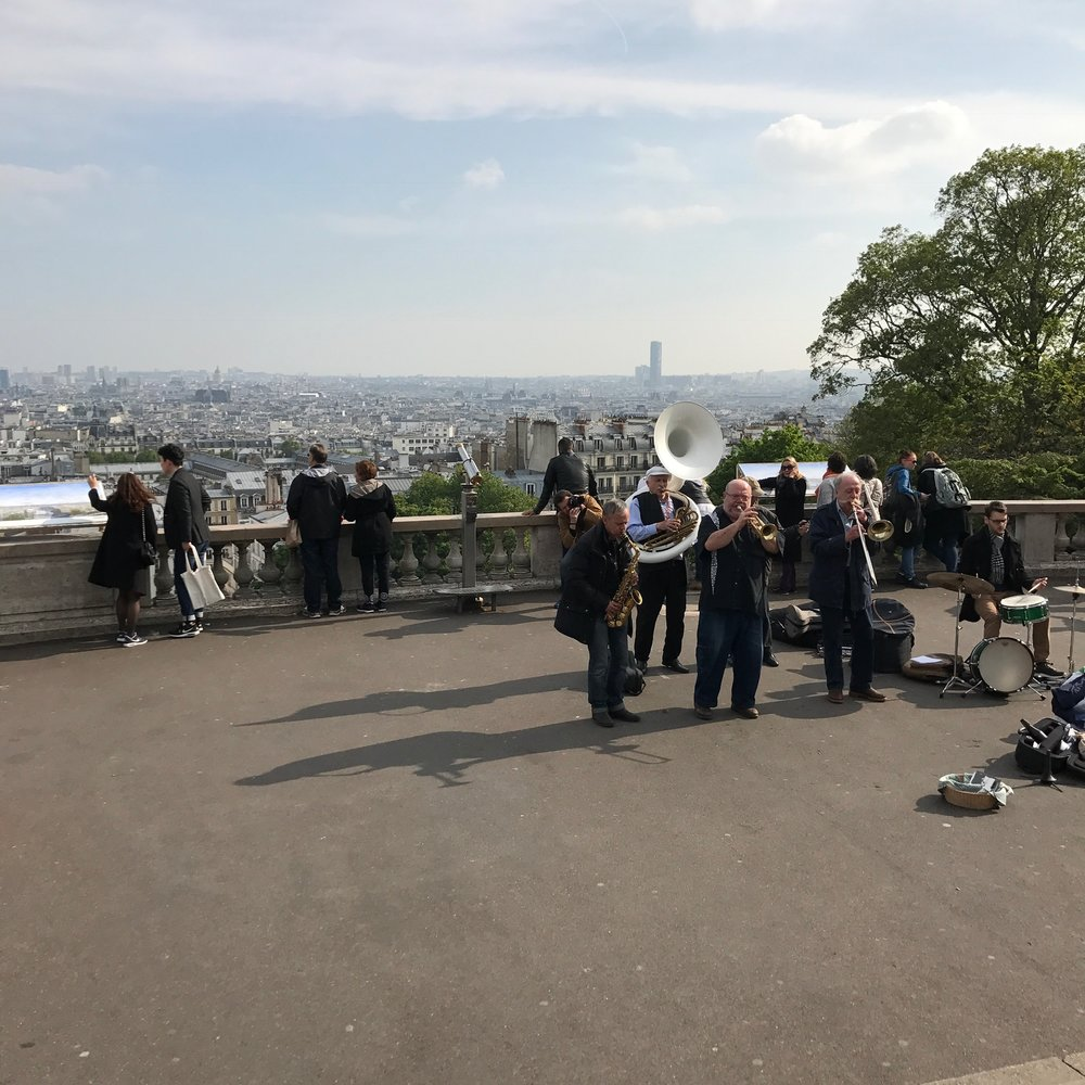Views from Sacré Coeur