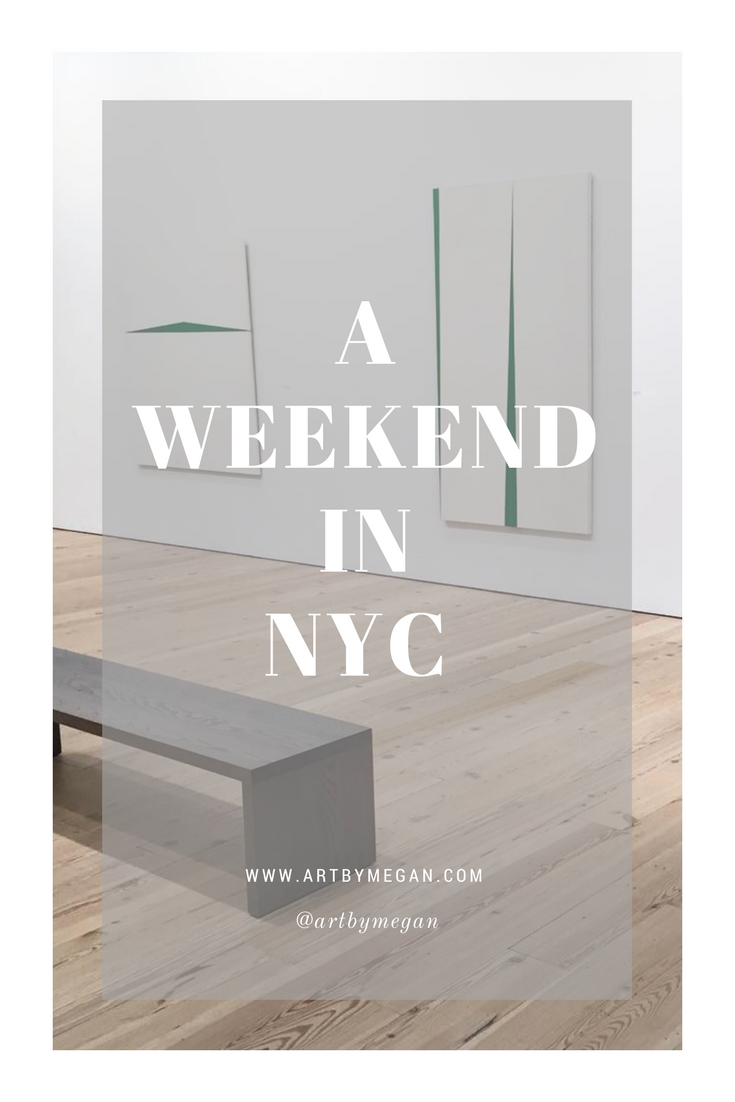 A weekend in NYC
