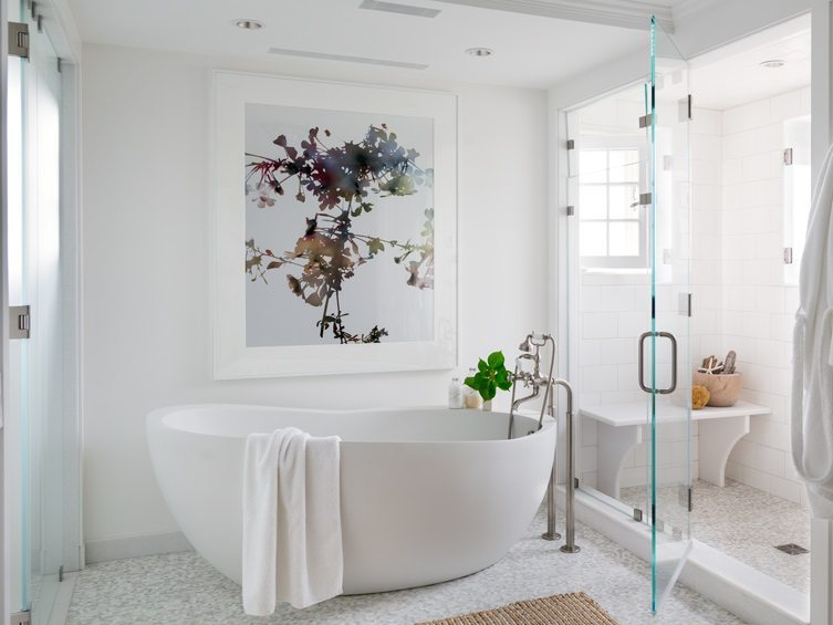 Master Bath artwork idea - image courtesy of Chairish.