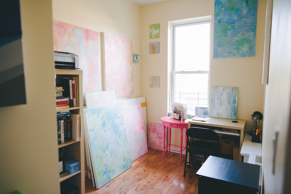 "The ""Teeny Tiny Studio"" - photo by  Amy Frances Photography"