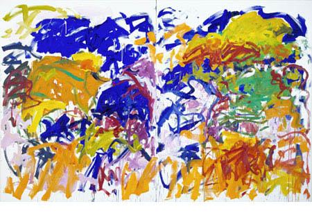 One of my favorite Joan Mitchell paintings.