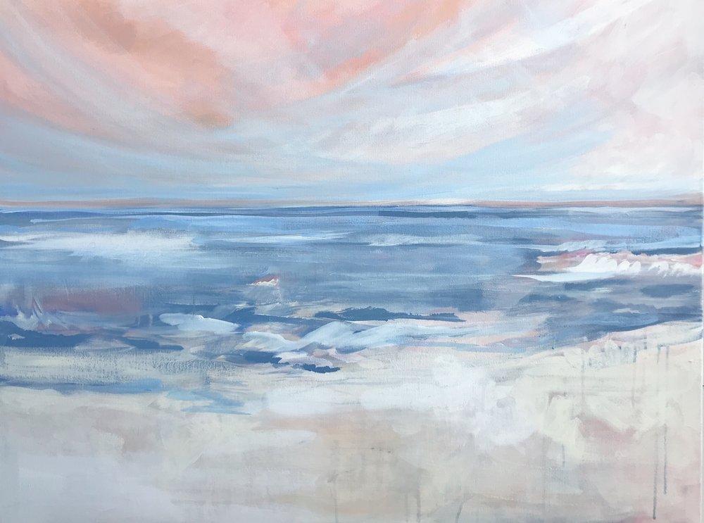 """Blush Sea"", 8x10 print."