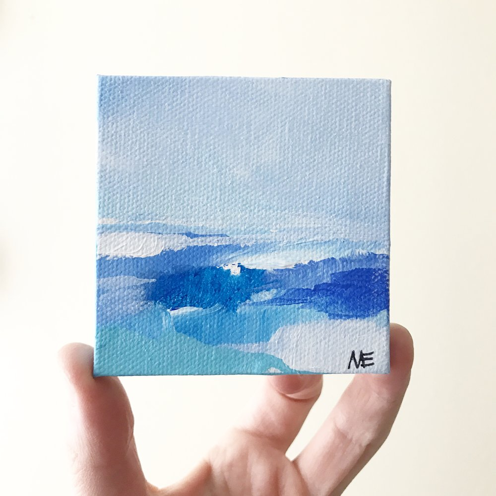 """Custom Mini Ocean"" by Megan Elizabeth.  Available in the  shop ."
