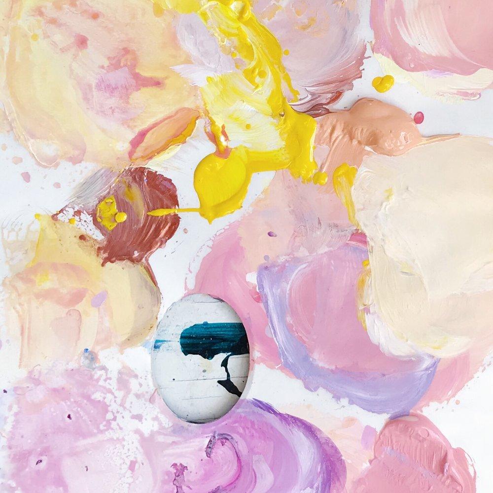 art by Megan paint palette