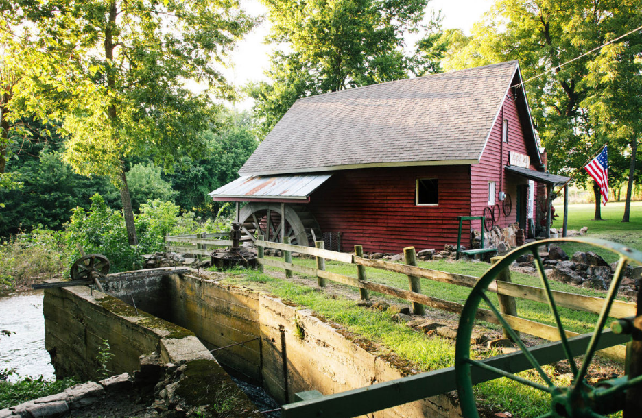 The mill dates back to the mid-1840s.