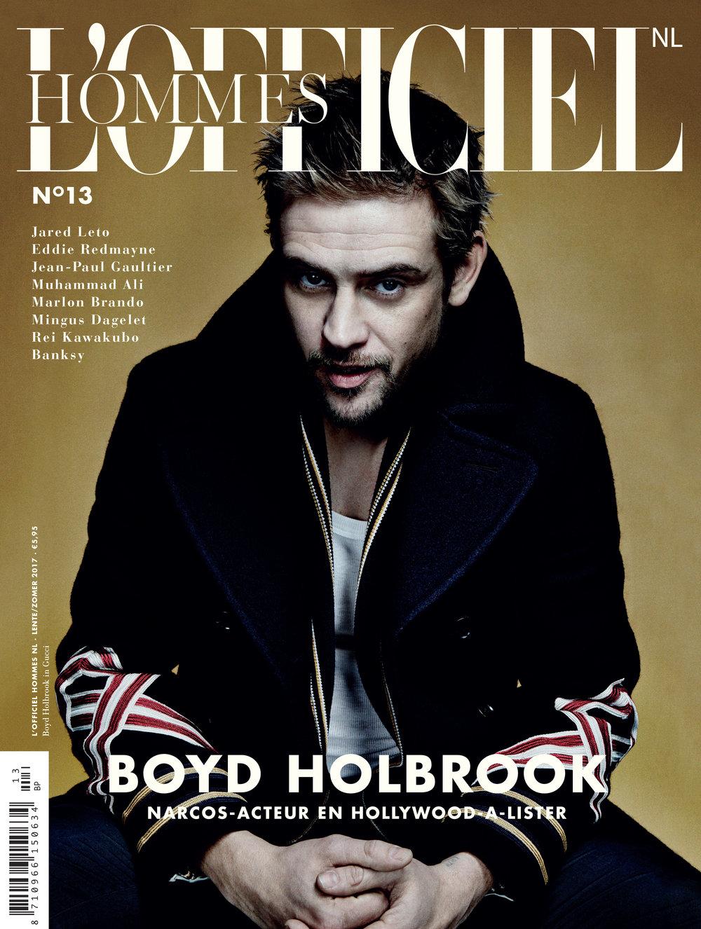 BOYD HOLBROOK // L'officiel Hommes // Damon Baker