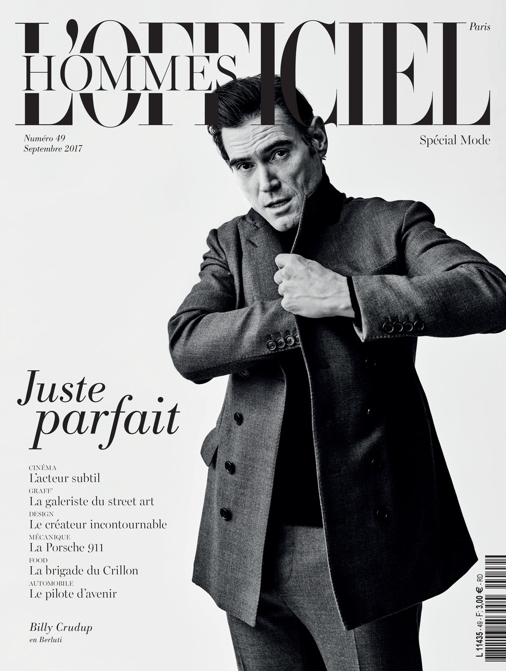 BILLY CRUDUP // L'OFFICIEL HOMMES // Takay