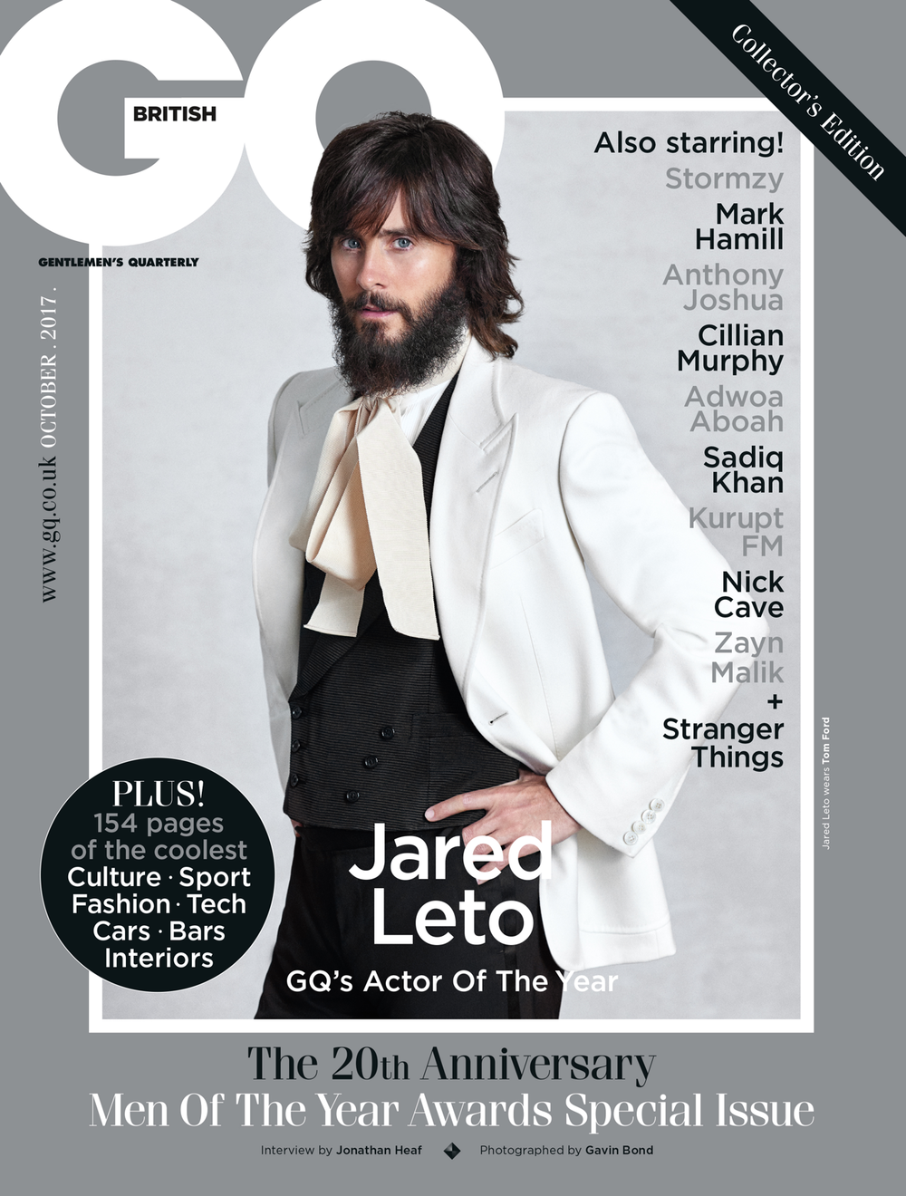 JARED LETO // BRITISH GQ // Gavin Bond
