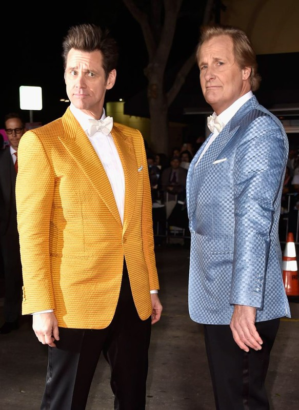 JIM CARREY & JEFF DANIELS // Dumb & Dumber Too Premiere