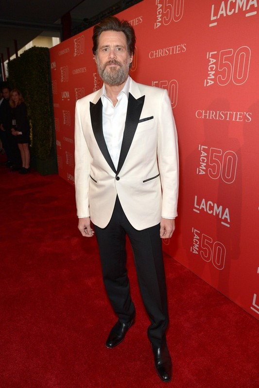 JIM CARREY // LACMA 50th Anniversary