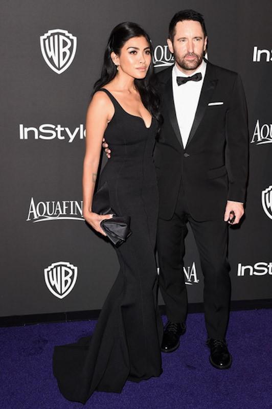 TRENT REZNOR & MARIQUEEN REZNOR // Academy Awards