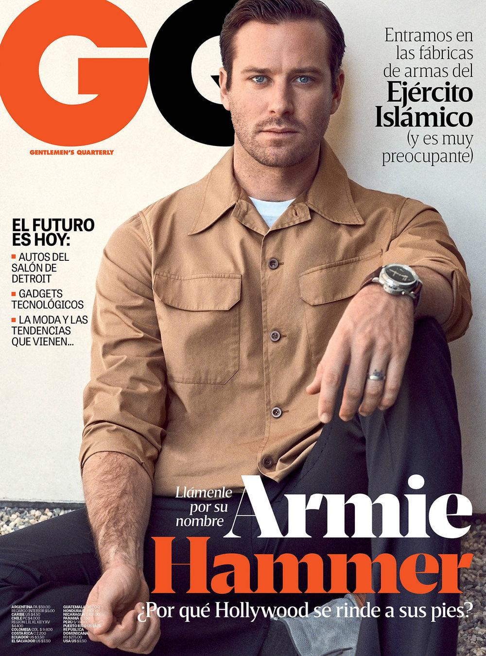 ARMIE HAMMER // GQ Latin America // Nino Munoz