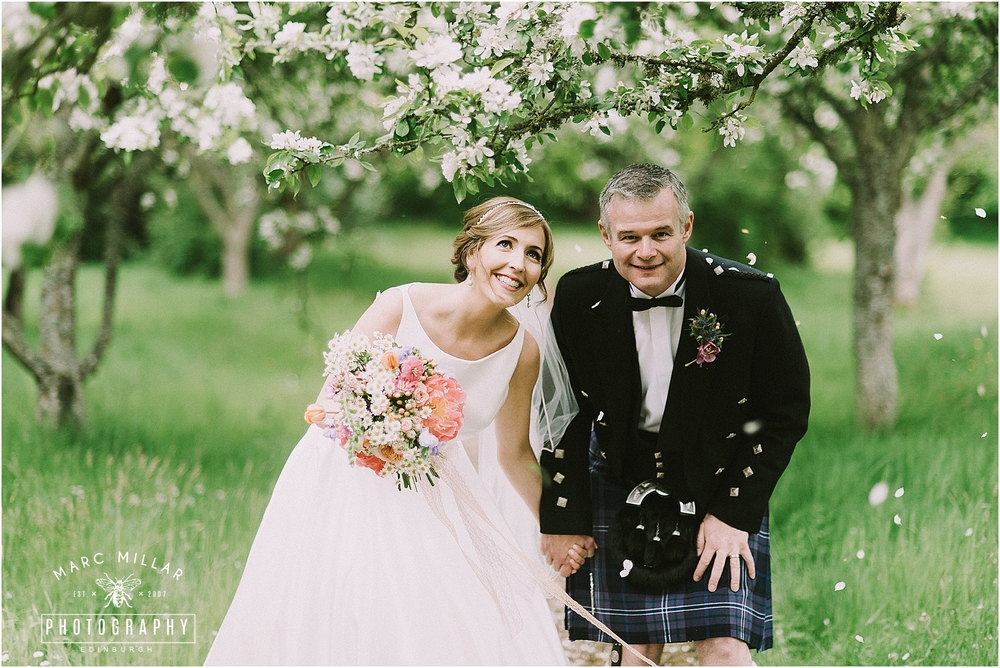 Roxburghe Hotel  Wedding Shoot  by Marc Millar Photography
