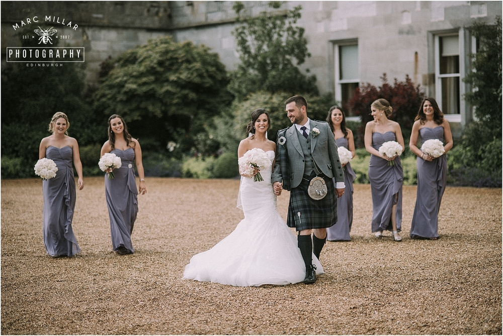 Dundas Castle Wedding Shoot by Marc Millar Photography