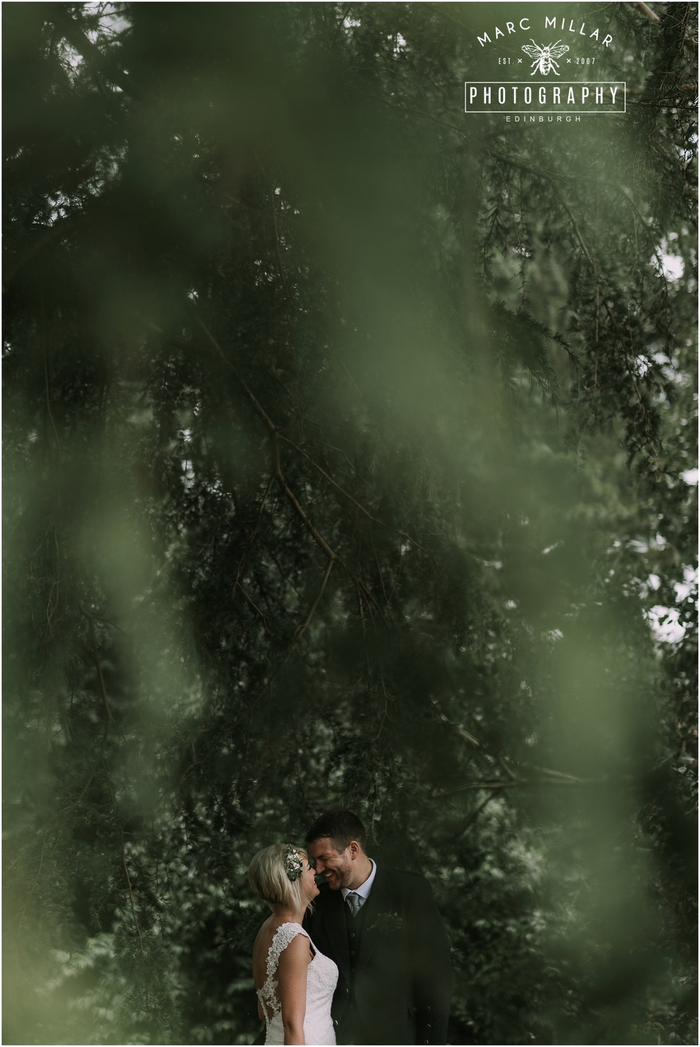 Royal Botanic Gardens Edinburgh Pre Wedding Shoot by Marc Millar Photography
