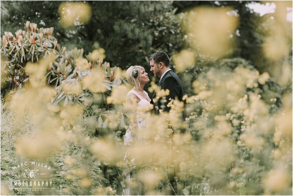 Royal Botanic Gardens Edinburgh Pre Wedding Shoot by Marc Millar Photography