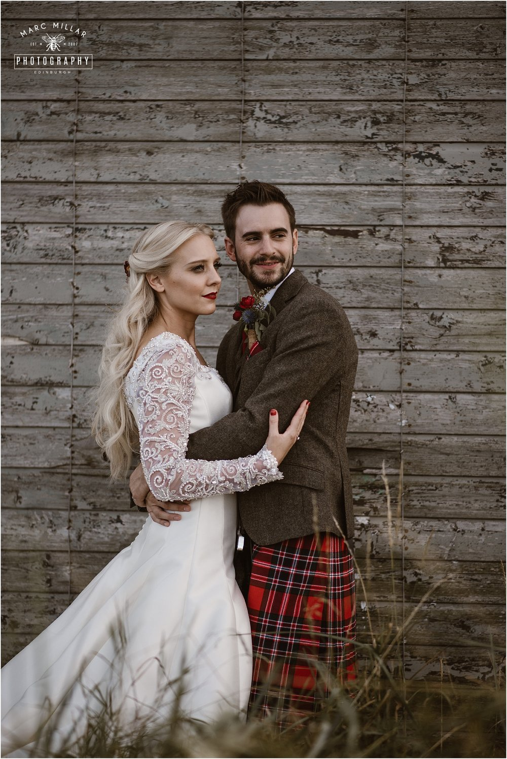 Kinkell Byre Wedding Shoot by Marc Millar Photography