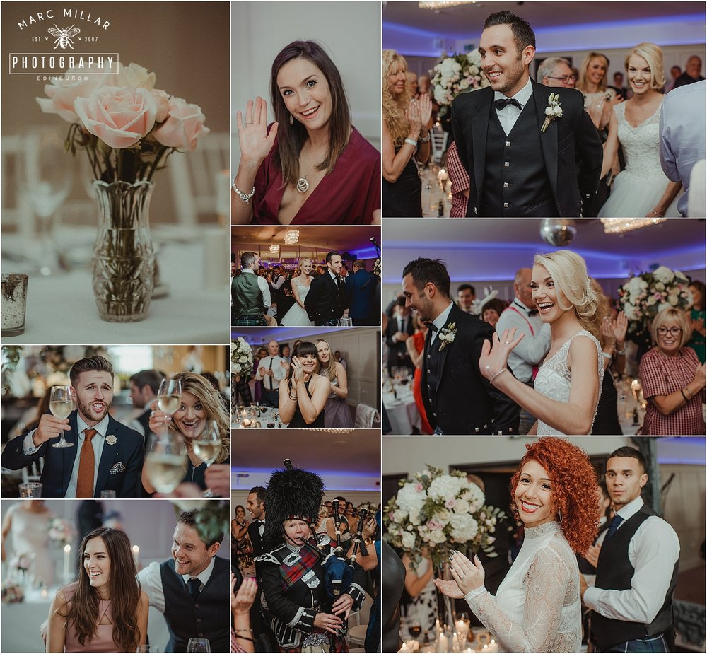 Fonab Castle Hotel Wedding Shoot by Marc Millar Photography