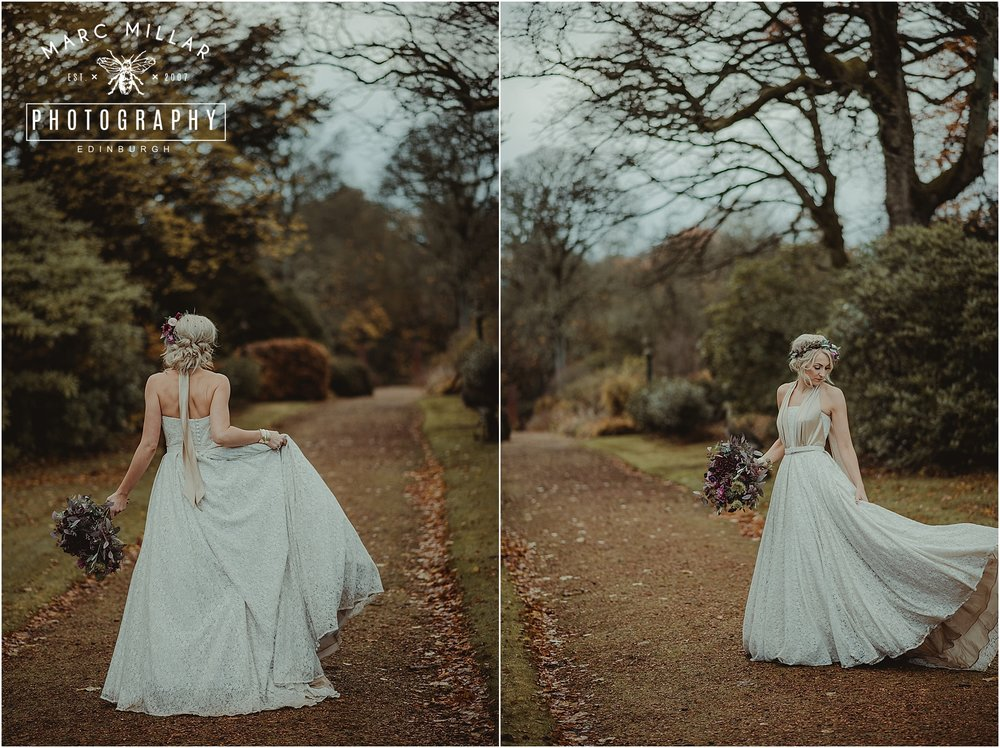 Kirknewton Stables Wedding Photography by Marc Millar Photography