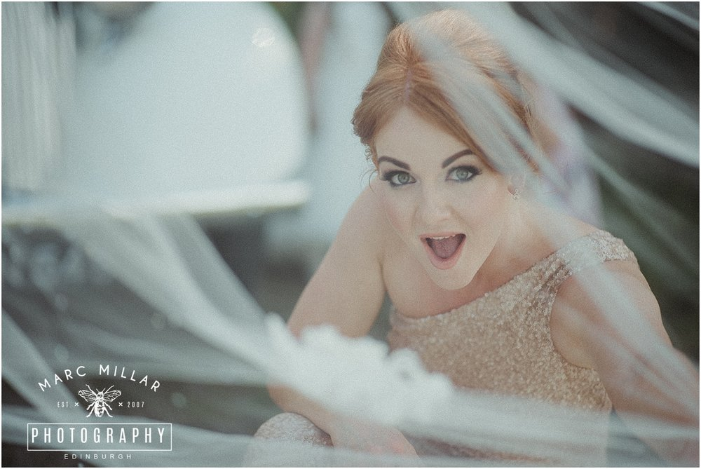 Carlowrie Castle Wedding Shoot by Marc Millar Photography