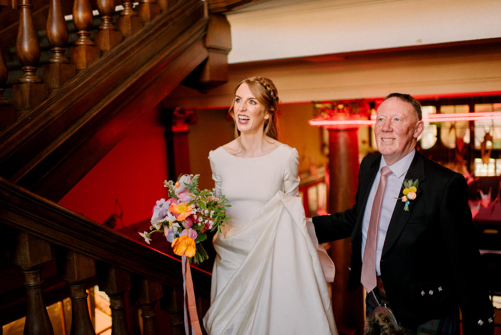 Summerhall Edinburgh Wedding by Marc Millar Photography