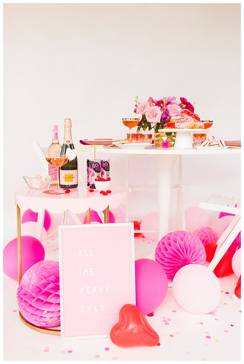 Cake & Confetti Galentines Valentines Party Inspiration Houston Blogger