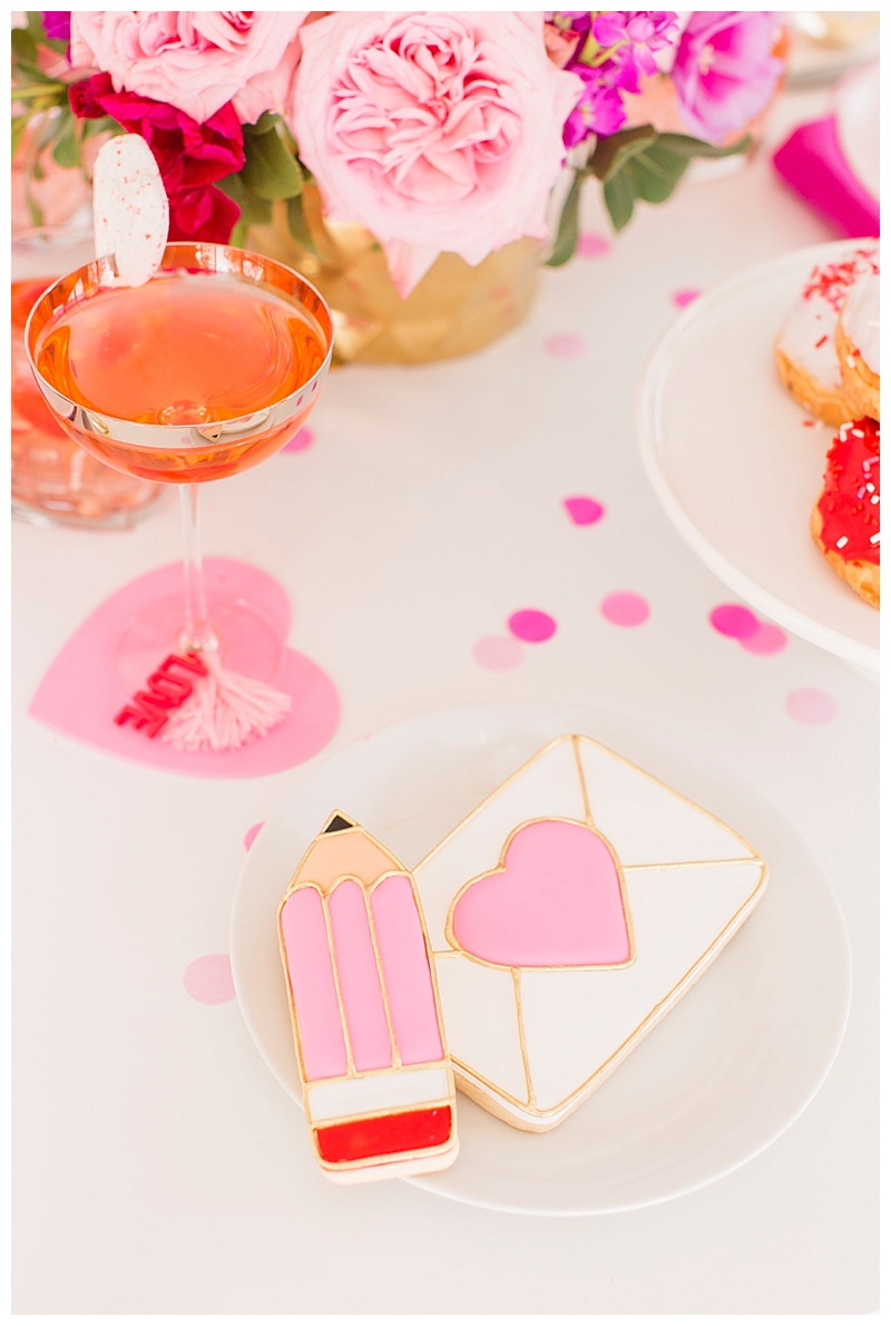 Houston blogger Meredith Staggers, Cake & Confetti Valentines inspiration