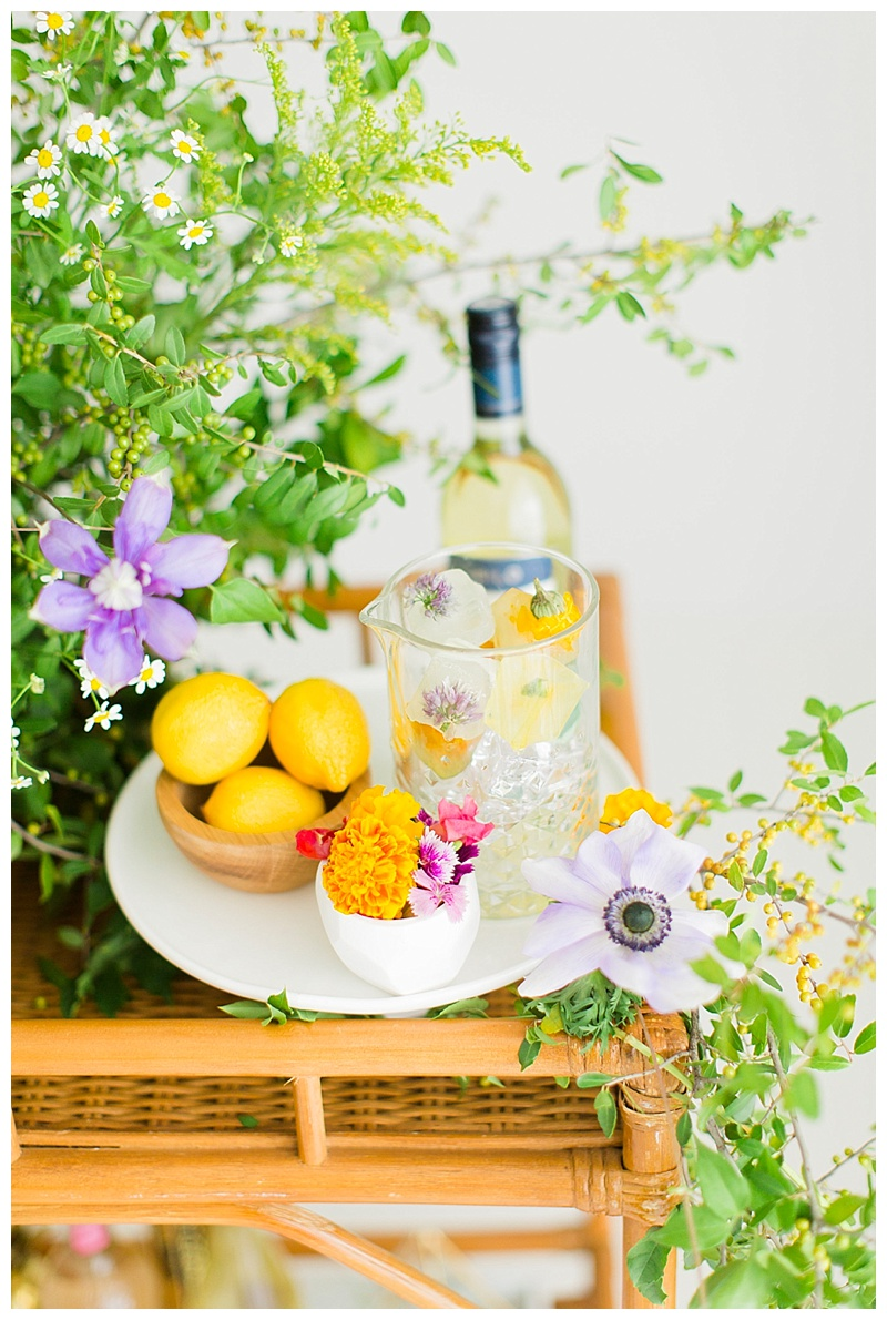 Floral Sangria Recipe | Meredith Staggers, Cake & Confetti Houston Blogger