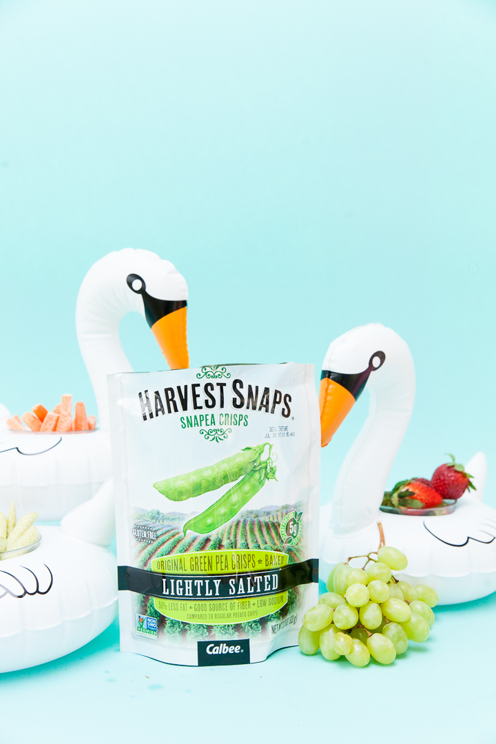 Inflatable Swan Snack Cups | Cake & Confetti