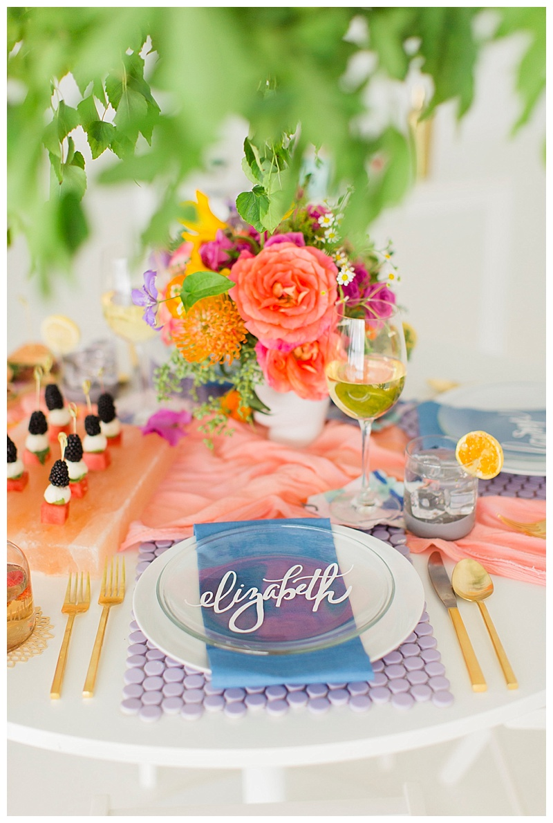 Cake & Confetti | Colorful Springtime Brunch