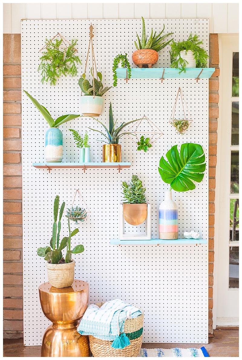 cake-and-confetti-diy-greenery-wall