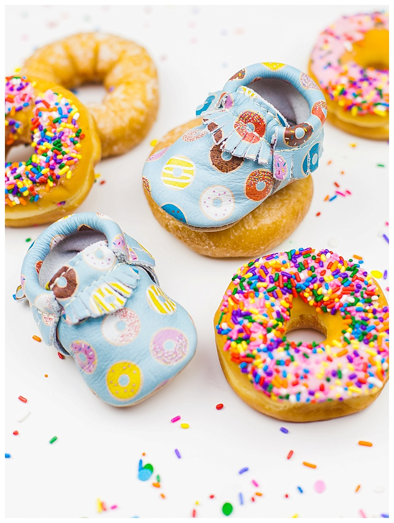 freshly picked donut moccasins