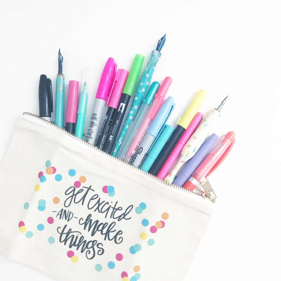 All She Wrote Notes- Pens