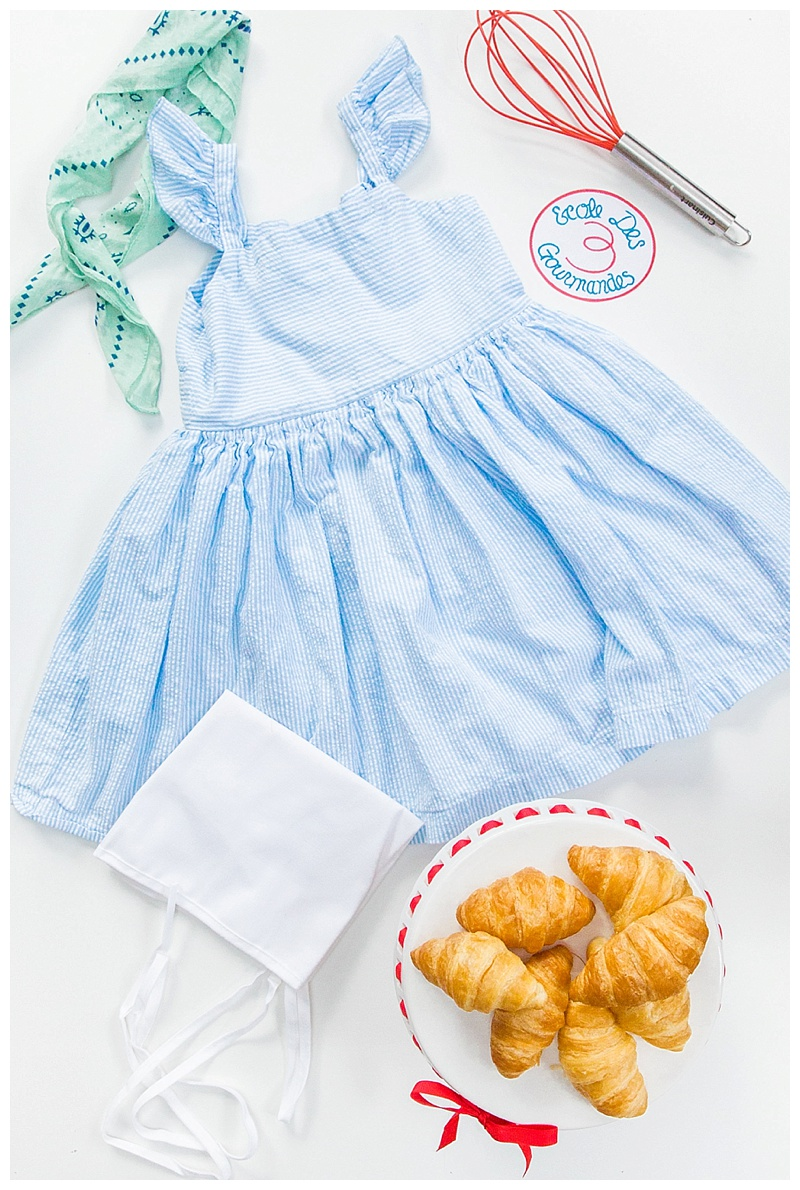 DIY Julia Child Toddler Halloween Costume