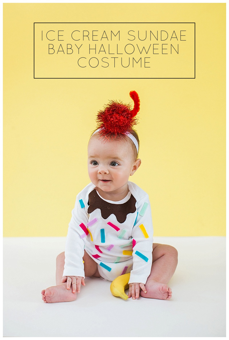 easy diy baby halloween costumes — cake & confetti