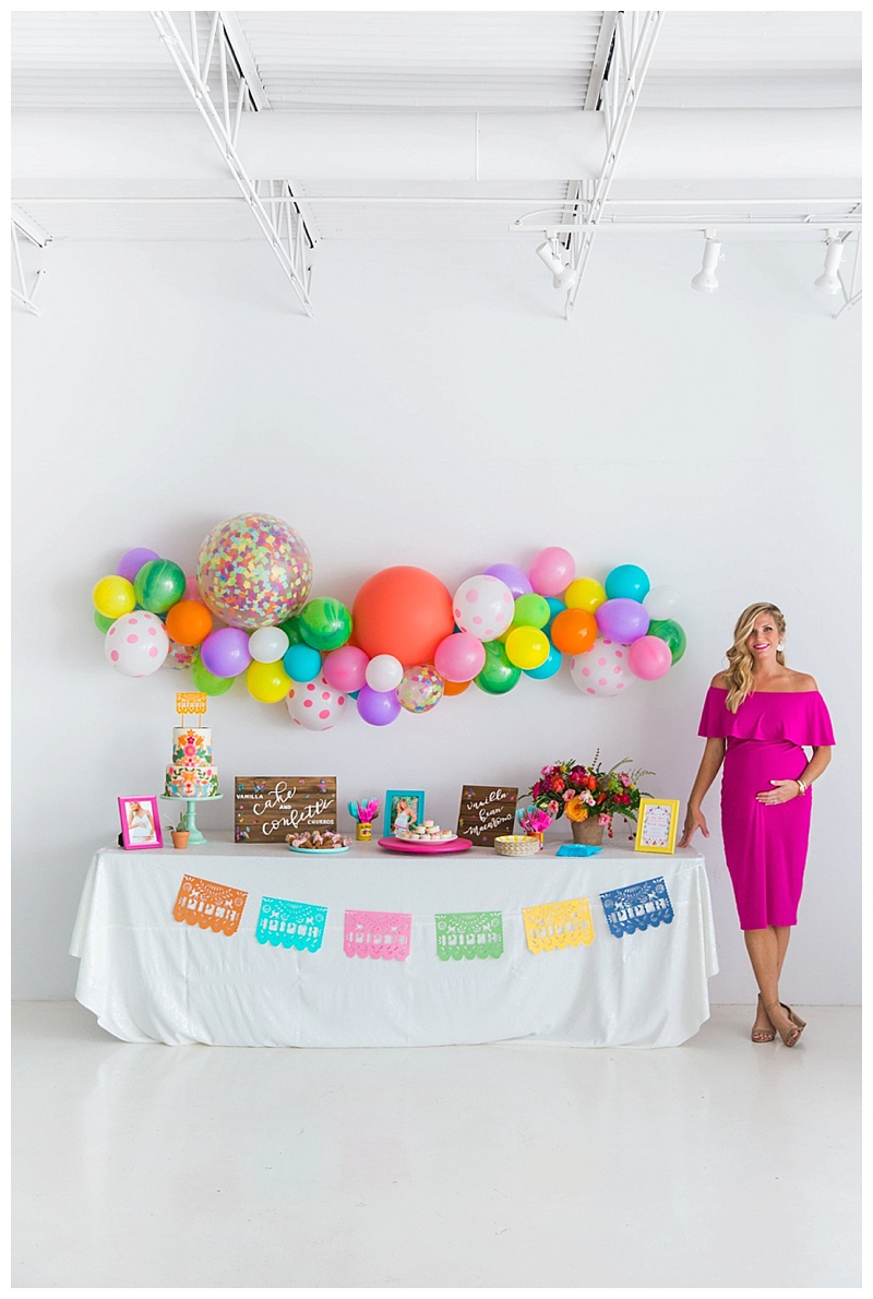 fiesta-baby-shower-cake-and-confetti