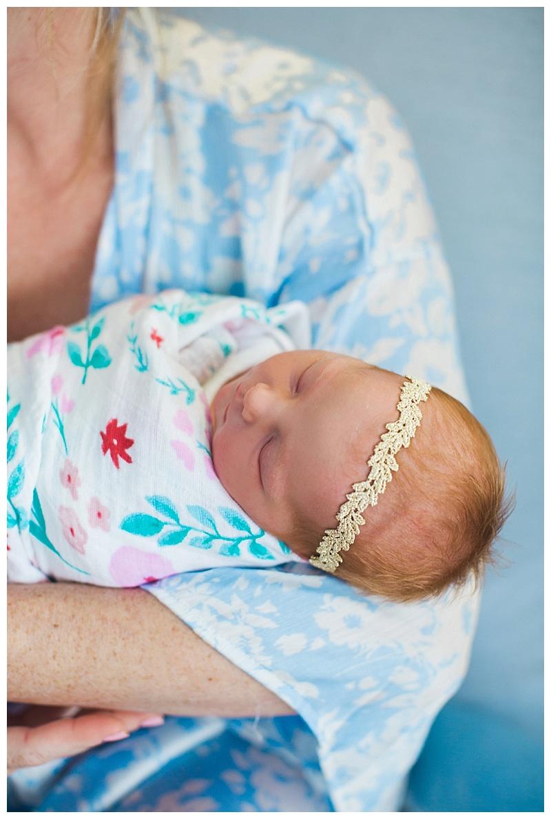hospital newborn photos