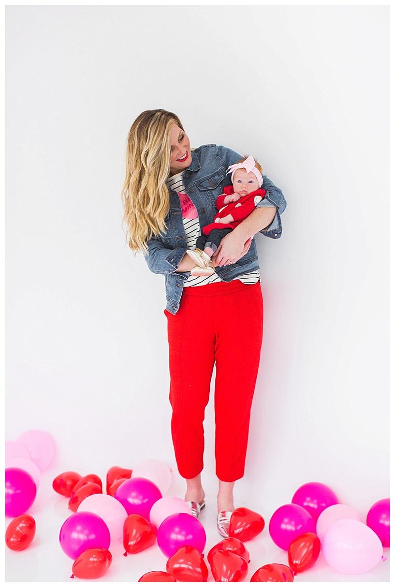 mother daughter valentine's photos