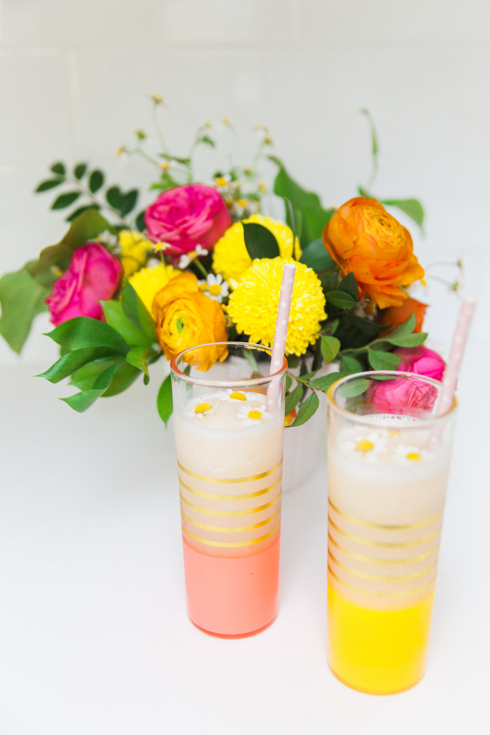 white peach frose recipe houston blogger