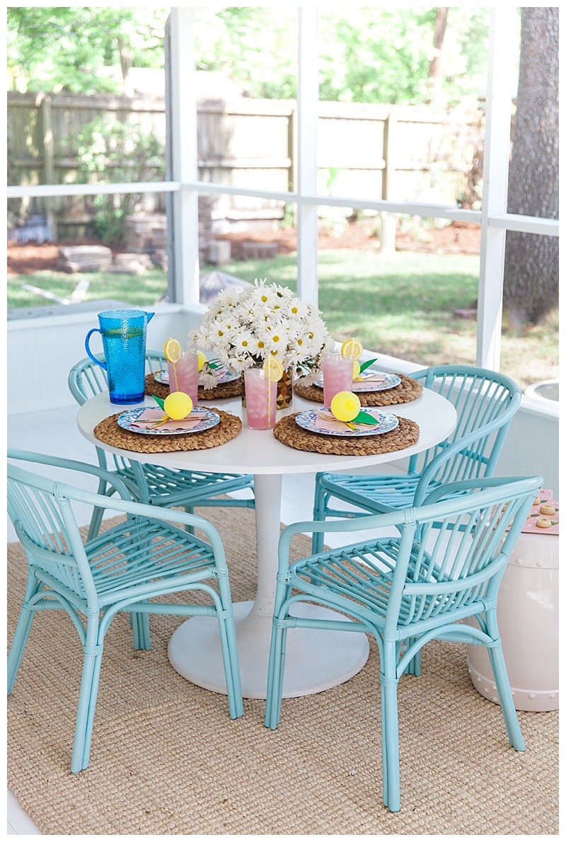 Outdoor Entertaining With Tuesday Morning Cake Confetti