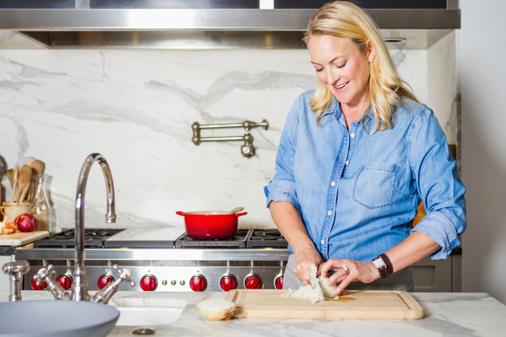 Marcia Smart in the Kitchen