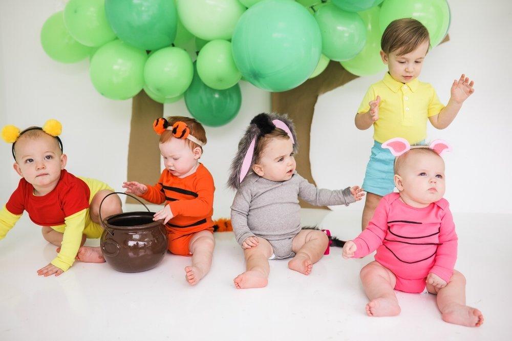f62ac8ac57e9 DIY BABY WINNIE THE POOH HALLOWEEN COSTUMES — Cake   Confetti