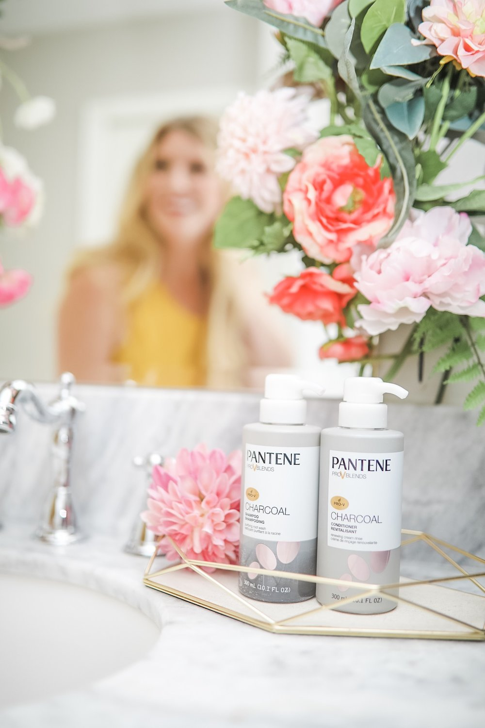 pantene beauty blogger houston cake and confetti meredith staggers hair