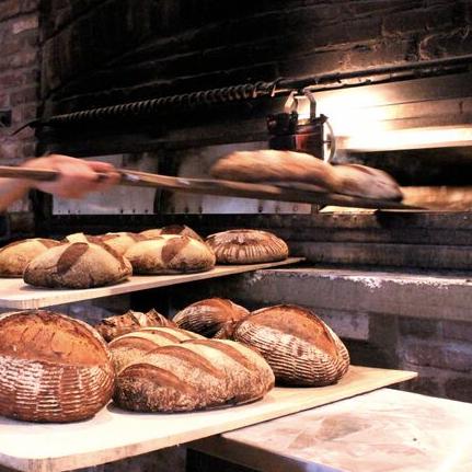 Breads:100% Sourdough:Long-Fermented, Wood-Fired -