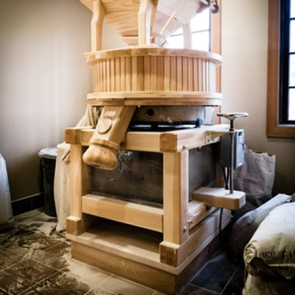 Grains: Organic, House-Milled, and as local as possible -