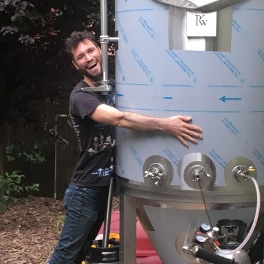 Draft Beer (Brewed by Gnomes) and wine -