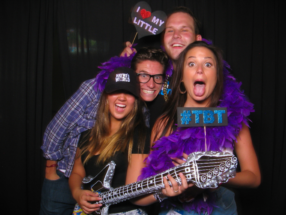 Chapman Alpha Phi 90's Throwback Date Party Photo Booth 10/02/14