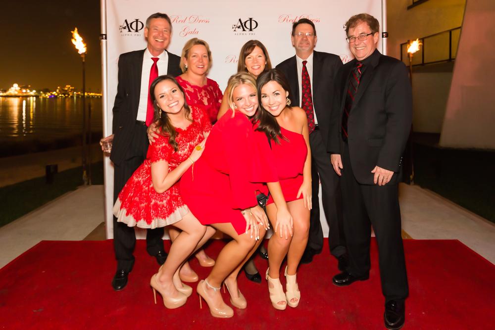 Chapman Alpha Phi Red Dress Gala 03/07/15