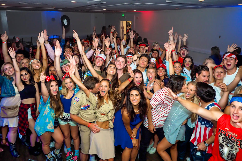 Chapman Alpha Phi USA Date Party 04/02/15
