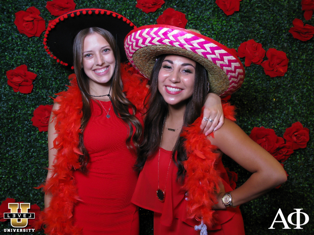 CSULB Alpha Phi Red Dress Ball Photo Booth 11/08/14